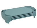 Angeles AFB5736AGN SpaceLine Cot Toddler 4 Pack - Teal Green