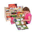 Angeles ANG1201 Toddler Low Book Display