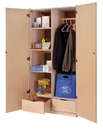 Angeles ANG1519 Teacher's Locking Storage Cabinet