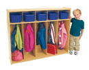 Angeles ANG7158 Value Line Toddler 5-Section Locker