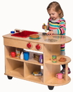 Angeles ANG9092 Value Line Birch Toddler 2-In-1Kitchen