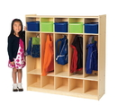 Angeles ANG9154 Value Line Birch 5-Section Locker
