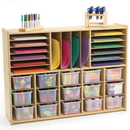 Angeles ANG7172 Value Line Multi-Section Storage - Unit Only