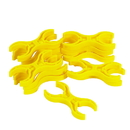 Children's Factory CF-50008-12 Double Claws - Yellow Set of 12