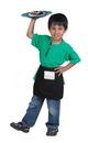 Children's Factory CF100-104 Waiter/Waitress Apron with Order Book and 1 Menu