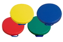Children's Factory CF321-165 Round Floor Cushions - Primary Set of 4