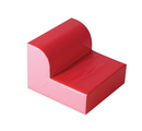 Children's Factory CF322-385 Red Library Chair