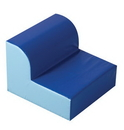 Children's Factory CF322-386 Blue Library Chair