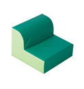 Children's Factory CF322-387 Green Library Chair