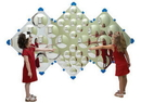 Children's Factory CF332-573 Diamond Bubble Wall