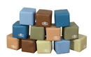Children's Factory CF705-392 Baby Blocks in Woodland Colors - Set of 12