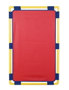 Children's Factory CF900-101R Rectangle Play Panel - Red