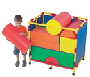 Children's Factory CF905-138 Soft Big Block Trolley - Set B