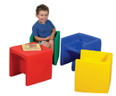 Children's Factory CF910-007 Cube Chairs - Set of 4