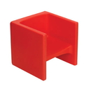 Children's Factory CF910-008 Chair Cube - Red