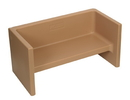 Children's Factory CF910-057 Adapta-Bench - Almond