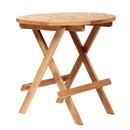 ARB Teak & Specialties  Folding Side Table - Round