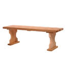 All Things Cedar BB45U 4' Backless Bench