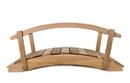 All Things Cedar FB36U-R 3' Garden Bridge/ Rails