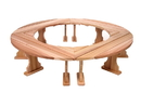 All Things Cedar QR60U-4 Fireside Bench. Set