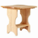 All Things Cedar ST24U Adirondack Magazine Table