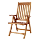All Things Cedar TF44 5 - Position Folding Arm Chair
