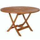 All Things Cedar TR48 Round Folding Table