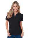 Bayside 1050 Women's V-Neck Polo Shirt