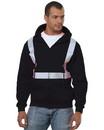 Bayside 3790 Hi-Visibility Full Zipper Fleece