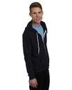 Bayside 875 Unisex Full Zipper Fleece
