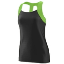Augusta Sportswear 1208 Ladies Jazzy Open Back Tank