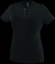 Augusta Sportswear 1212 Ladies Wicking Two-Button Jersey