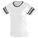 Augusta Sportswear 1275 Ladies Junior Fit Cotton/Spandex Camp Tee