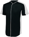 Augusta Sportswear 1655 Full Button Baseball Jersey