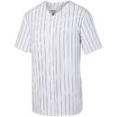 Augusta Sportswear 1685 Pinstripe Full Button Baseball Jersey