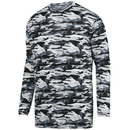 Augusta Sportswear 1808 Youth Mod Camo Long Sleeve Wicking Tee