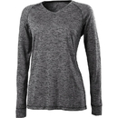 Holloway 222717 Ladies Electrify 2.0 Shirt V-Neck Long Sleeve
