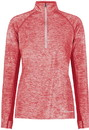 Holloway 222774 Ladies Electrify Coolcore 1/2 Zip Pullover