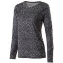 Holloway 229365 Ladies Space Dye Shirt Long Sleeve
