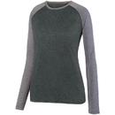 Augusta Sportswear 2817 Ladies Kinergy Two Color Long Sleeve Raglan Tee