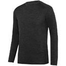 Augusta Sportswear 2953 Intensify Black Heather Long Sleeve Tee