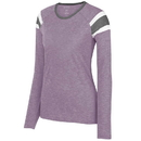 Augusta Sportswear 3012 Ladies Long Sleeve Fanatic Tee