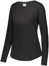 Augusta Sportswear 3077 Ladies Lux Tri-Blend Long Sleeve Shirt
