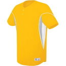 High Five 312050 Adult Ellipse Two-Button Jersey