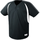 High Five 312070 Adult Impact Two-Button Jersey