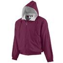 Augusta Sportswear 3280 Hooded Taffeta Jacket/Fleece Lined