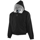 Augusta Sportswear 3281 Youth Hooded Taffeta Jacket/Fleece Lined