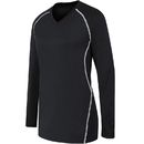 High Five 342163 Girls Long Sleeve Solid Jersey