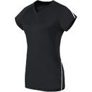 High Five 342173 Girls Short Sleeve Solid Jersey