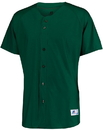 Russell Athletic 343VTM Raglan Sleeve Button Front Jersey